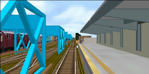 Screen dump of a view from the line