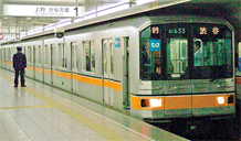 Picture of a class 01 subway train