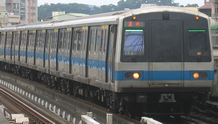 Picture of a C301 subway train