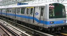 Picture of a C371 subway train