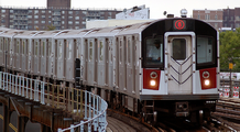 Picture of a R-142A subway train