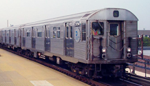 Picture of a R-32 subway train