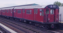 Picture of a R-36 subway train