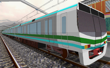 Picture of a fictitious class 12 EMU