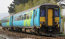 Picture of a class 156 diesel multiple unit