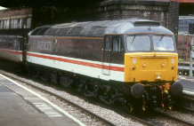 Picture of a class 47 diesel-electric engine