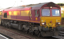 Picture of a class 66 locomotive