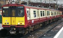 Picture of a class 314 electric multiple unit