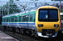 Picture of a class 323 electric multiple unit