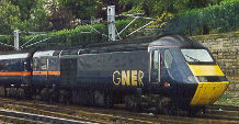 "Picture of a class 43 <ACRONYM title=""High Speed Train"">HST</ACRONYM>"
