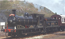 Picture of a class J36 steam engine