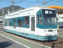 Picture of a class 800 streetcar