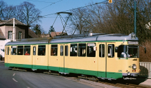 Picture of a class GT6 streetcar
