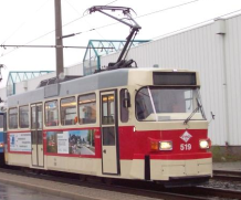 Picture of a class T3D-M streetcar