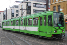 Picture of a class TW6000 streetcar